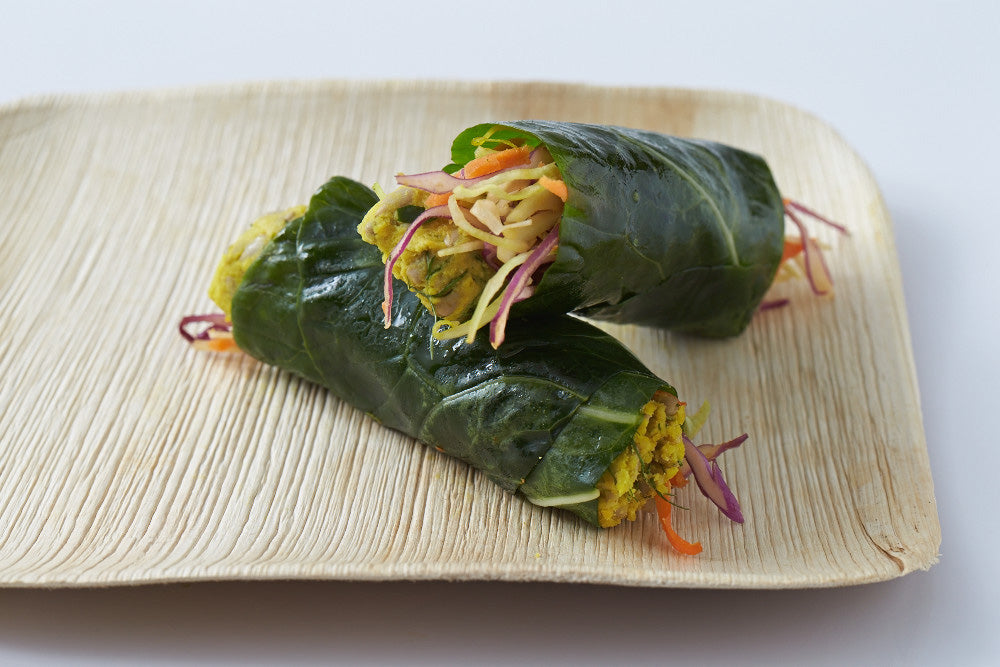 Raw Food Sunflower Pate Wrap