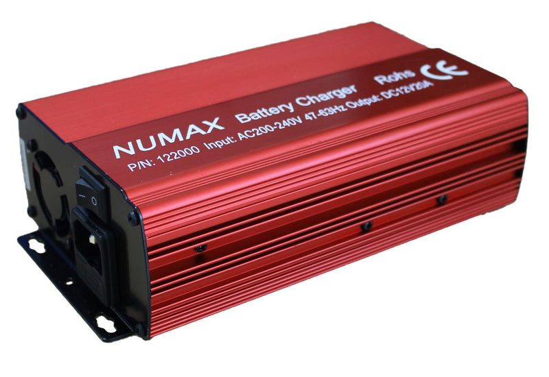 Numax 20A Commercial Battery Charger - lakehomeandleisure.co.uk