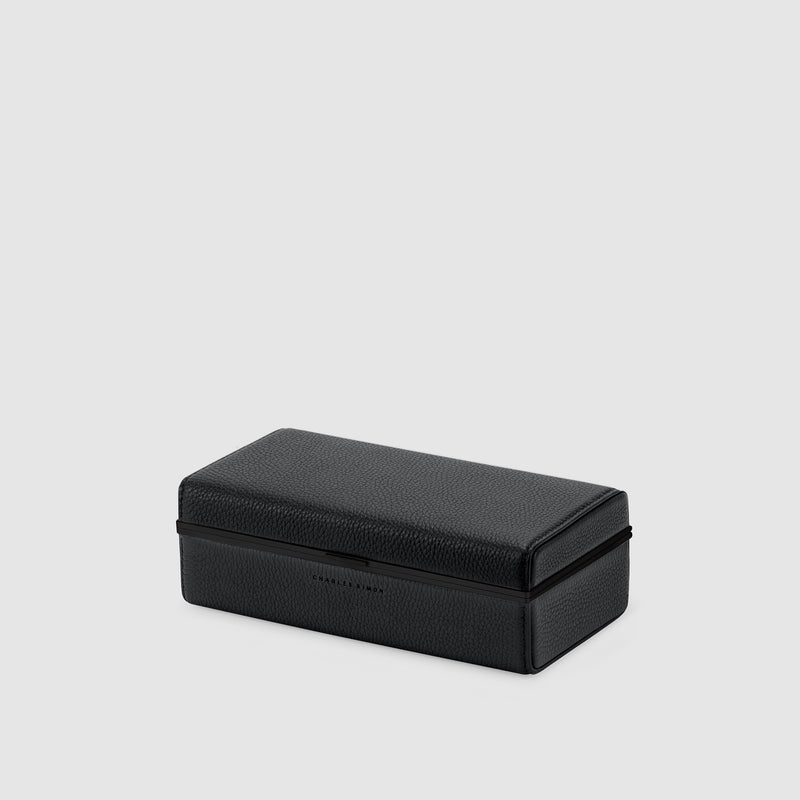 Charles Simon Eaton watch travel case in all black 2