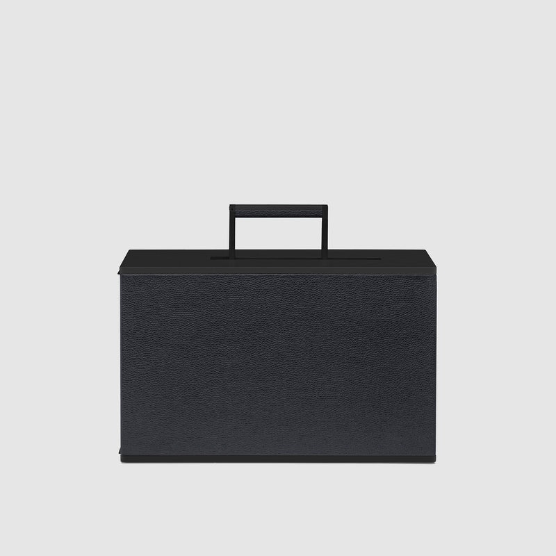 Charles Simon Rupert cabin carry-on in all black front view