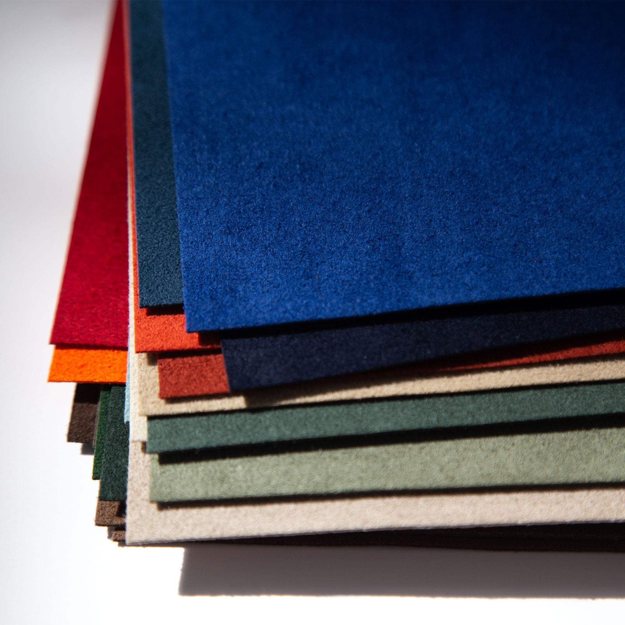 Alcantara available in different colors