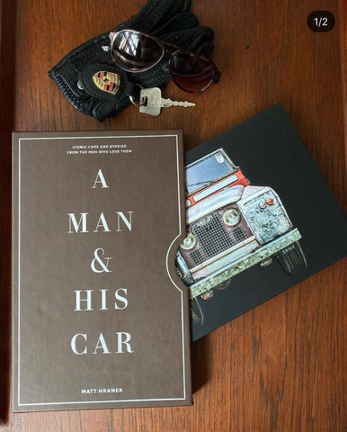 A Man and His Car Book