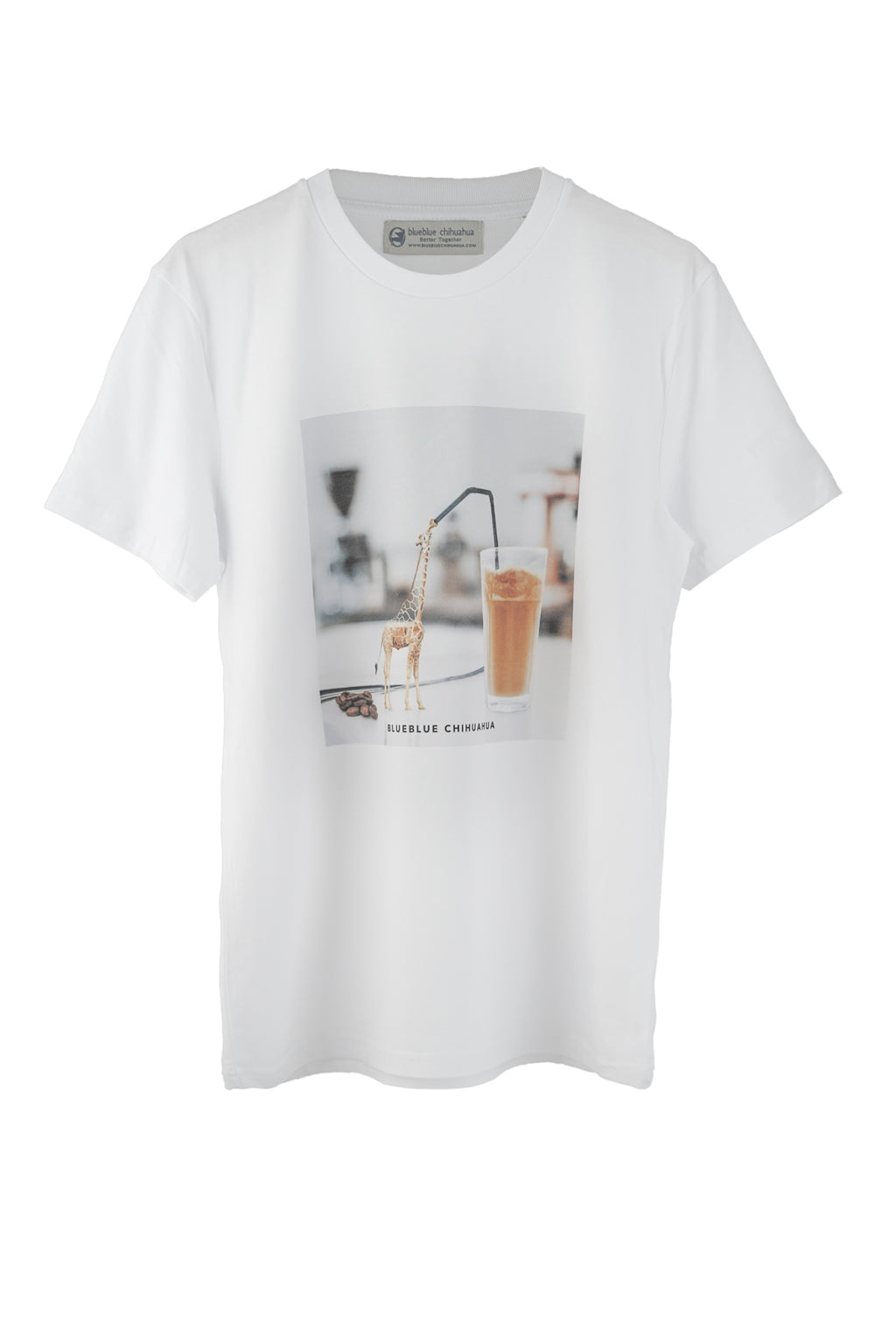 Camiseta Coffee Giraffe