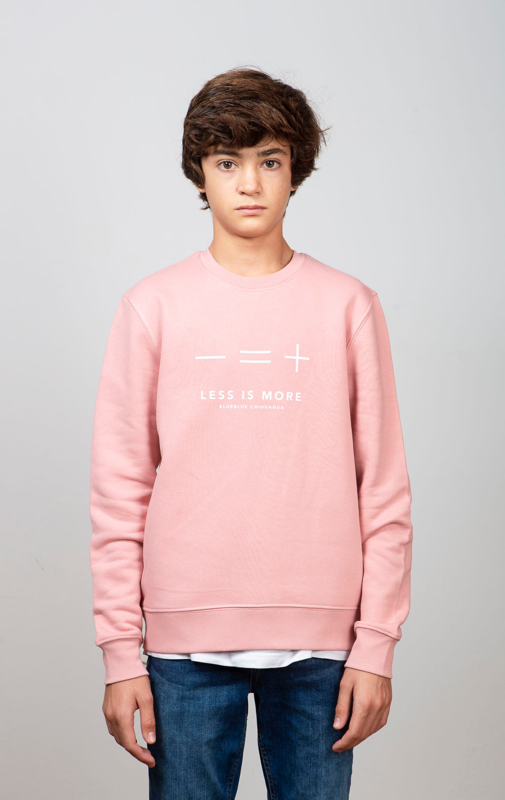 Sudadera Pink Less is More