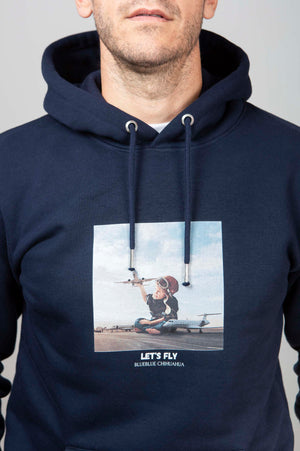 Sudadera Let's Fly