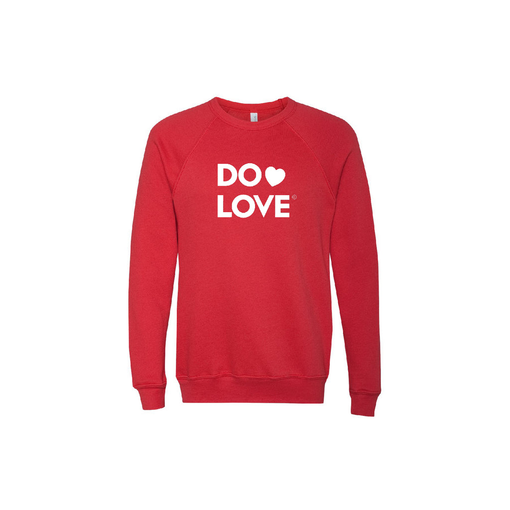 Do Love Raglan Sweatshirt (Unisex Sizing)