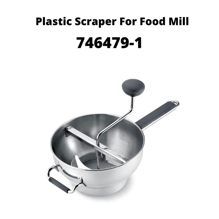 Replacement Part- CUISIPRO Plastic Scraper For Food Mill - Cuisipro