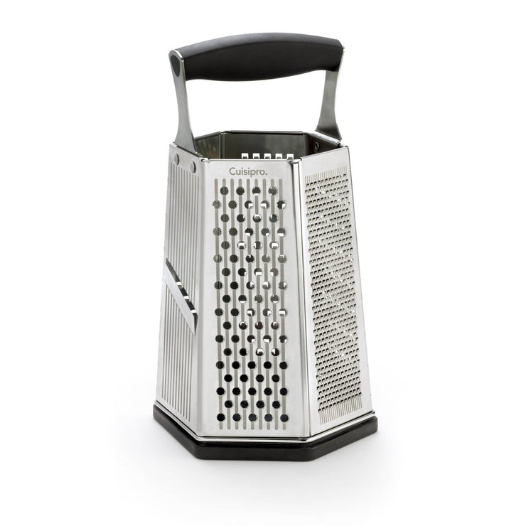 Cuisipro  Silver  6 Sided Box Grater - Cuisipro USA