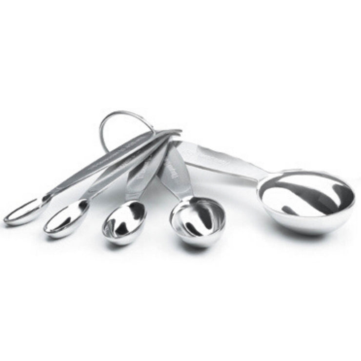 Cuisipro Stainless Steel Measuring Cups and Spoon Set _2 Sets - Cuisipro USA