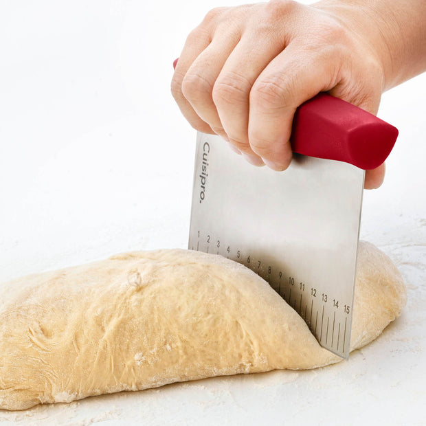 Cuisipro Red Dough Cutter - Cuisipro USA