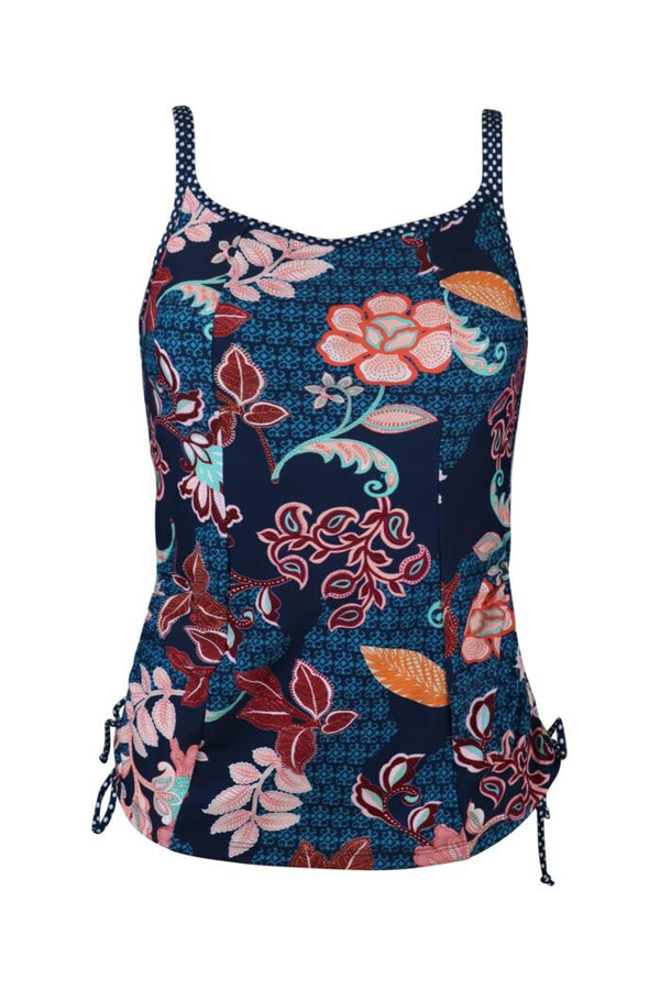 Reef Tankini Navy