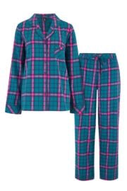 Cosy Check PJ Set