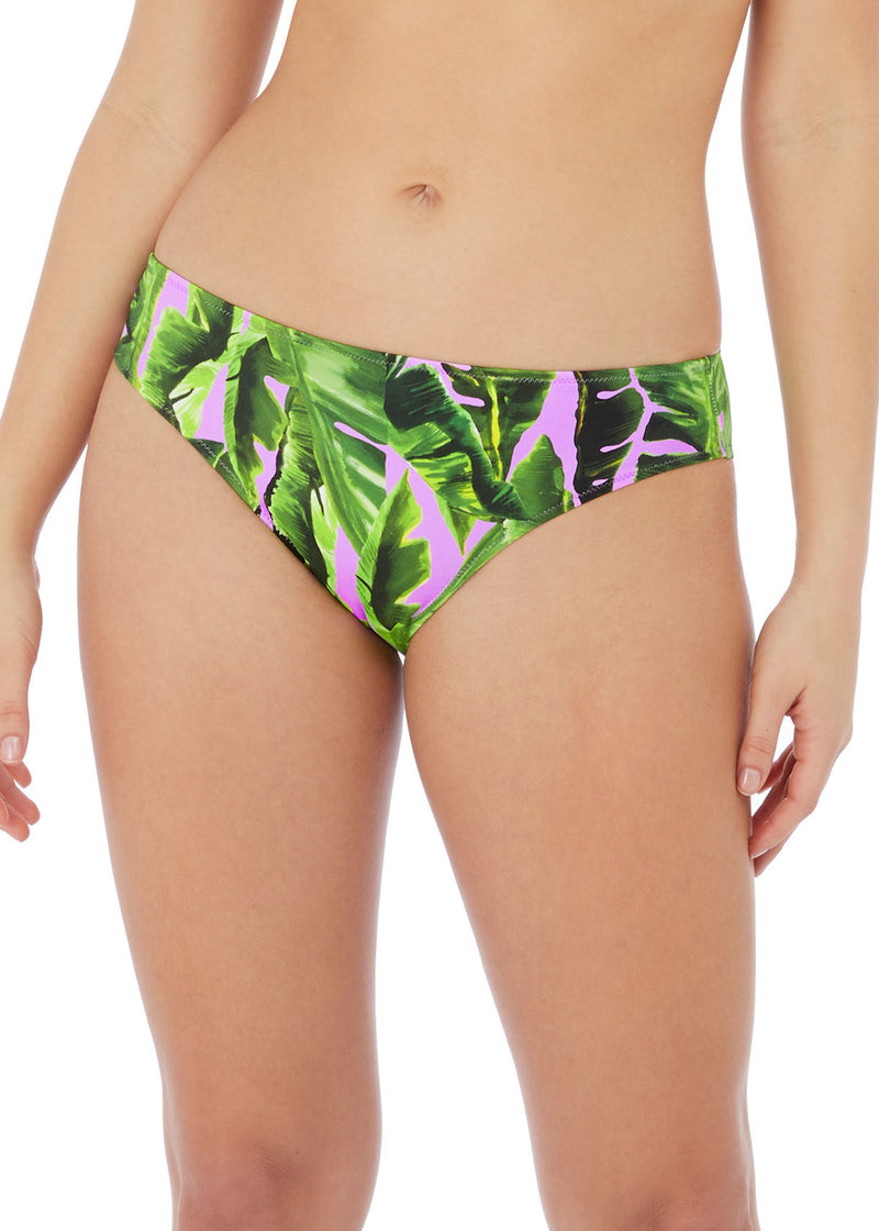 Jungle Oasis Bikini Brief Cassis