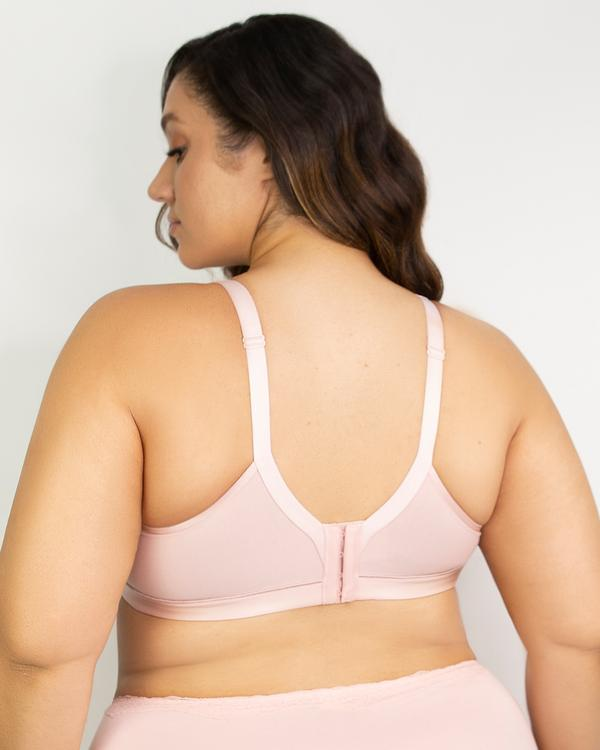 Cotton Luxe Wirefree Bra Blushing Rose