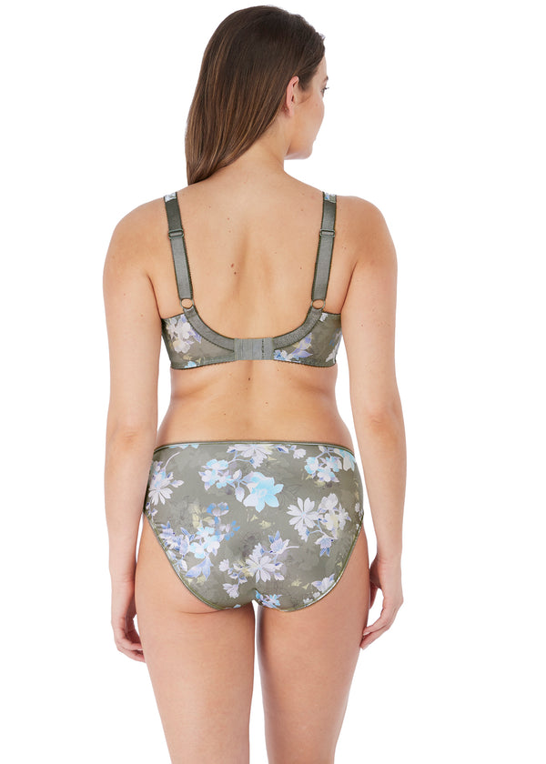 Emmie Side Support Bra Evergreen
