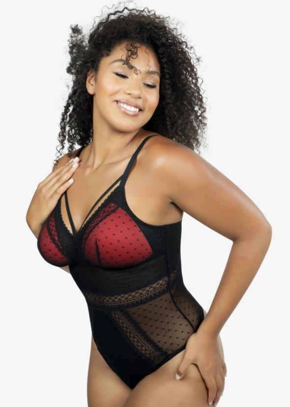Mia Dot Wirefree Bodysuit