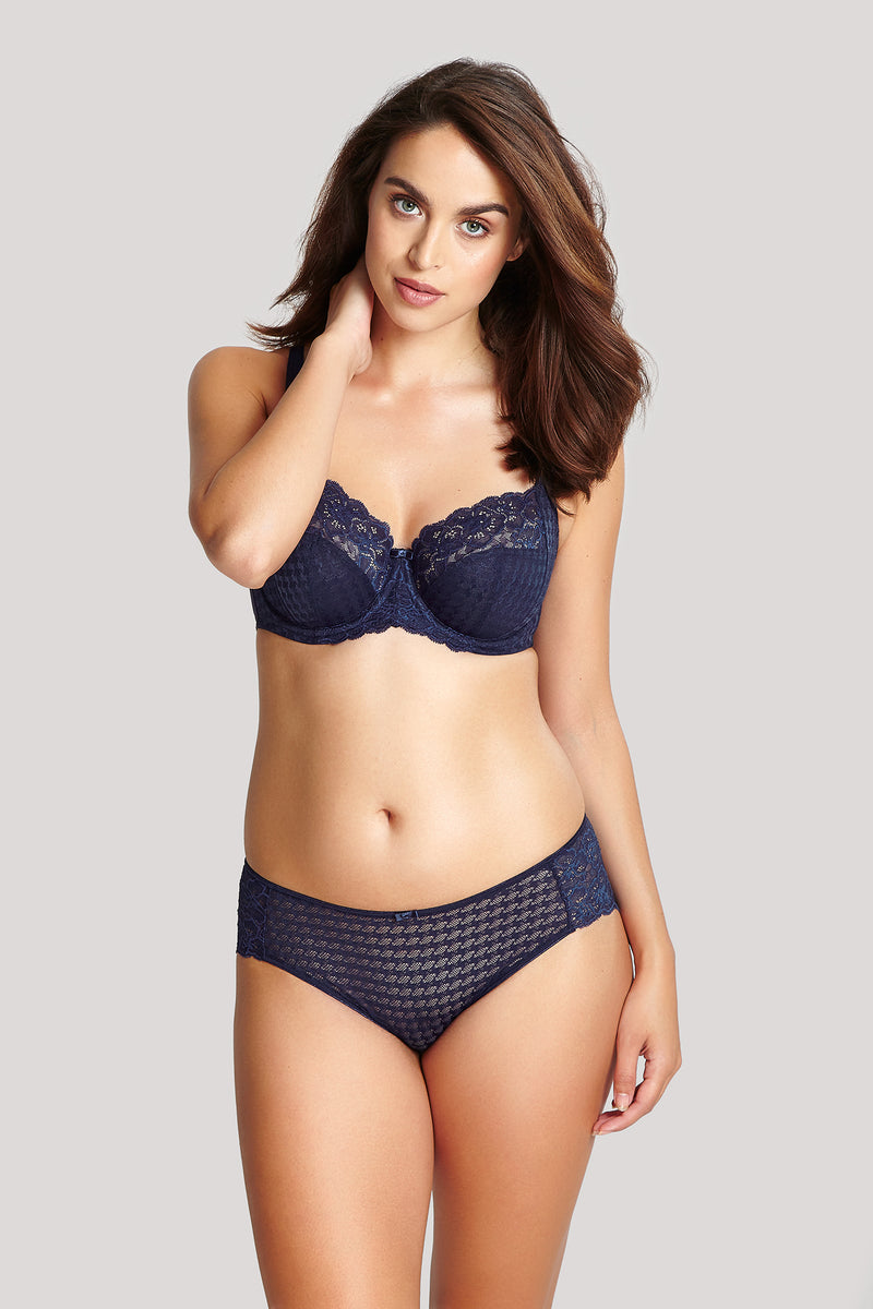 Envy Balconnet Bra Navy