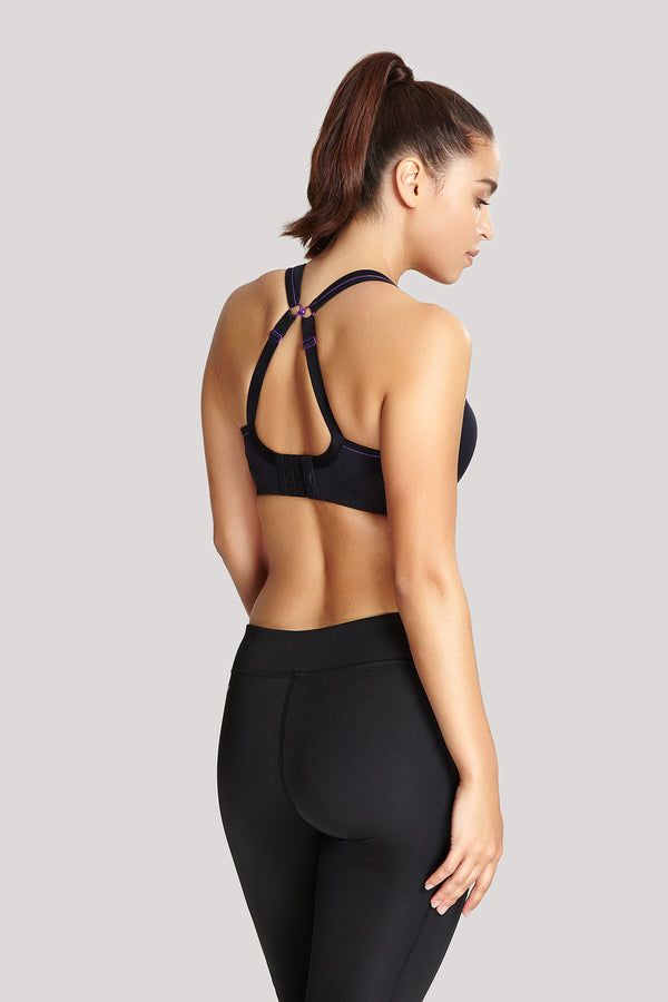 Panache Non-Wired Sports Bra Black