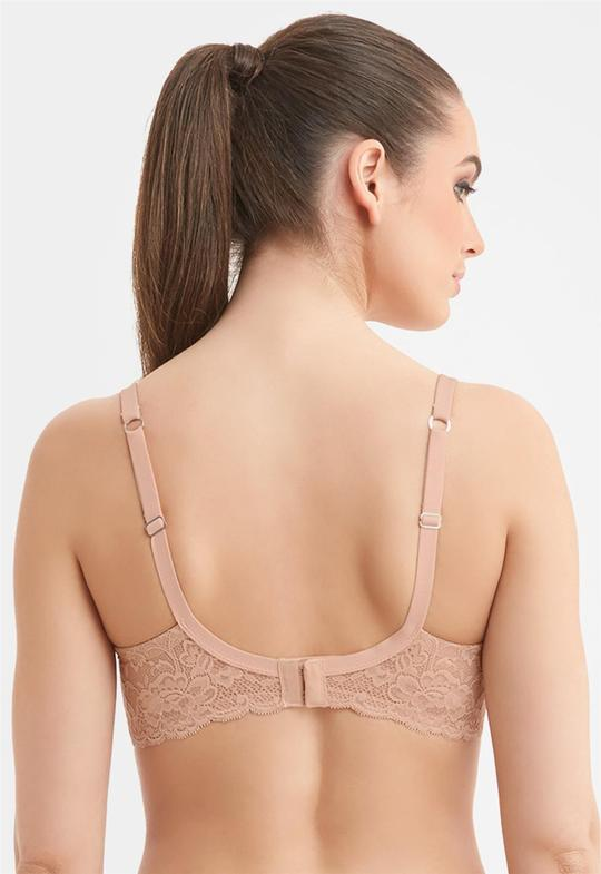 Pure Plus Full Cup Bra Nude