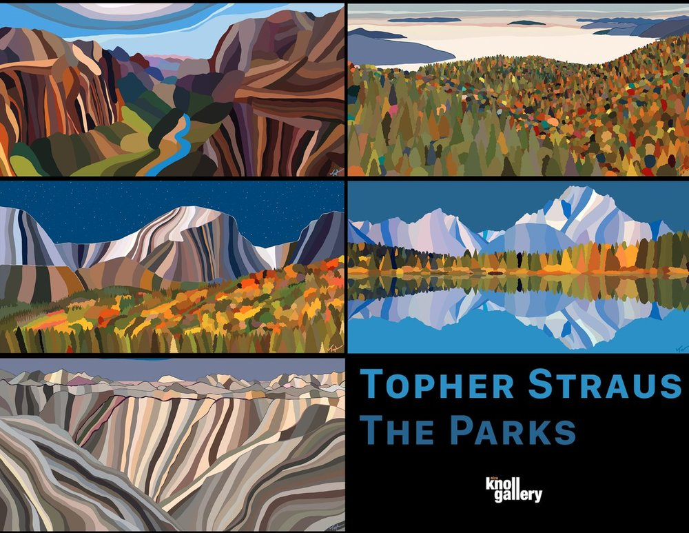 Topher Straus: The Parks at Niza Knoll Gallery