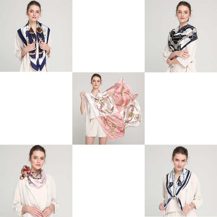 Ultra luxurious silk satin scarf Accessory SupprStore