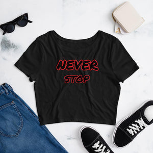 Women's Crop Tee Top SupprStore