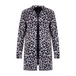 Leopard Print Winter Coat Jacket SupprStore Yellow XL