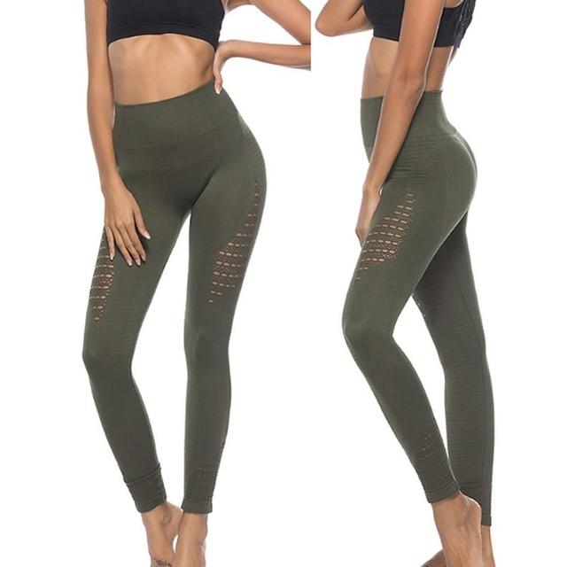 New Vital Seamless Gym/Yoga Pants Girl Yogapants supprstore Green L/XL