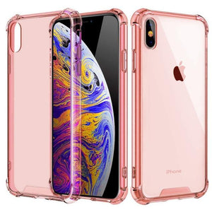 Shockproof Bumper Transparent Silicone Phone Cover For iPhone 11 X XS XR XS Max 8 (Multiple Colors) accessory SupprStore For iphone XS Max T4