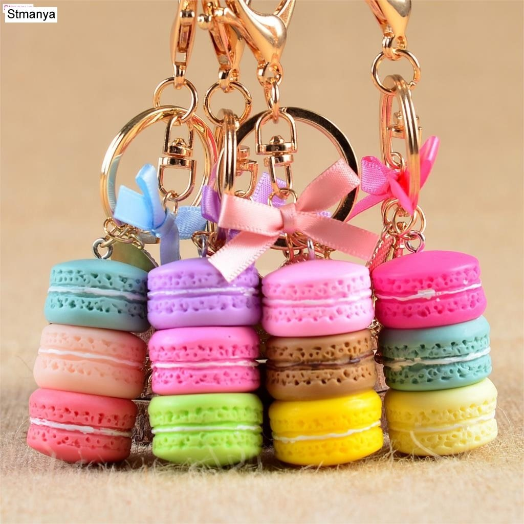 Cake/Macaron Key Chain accessory supprstore