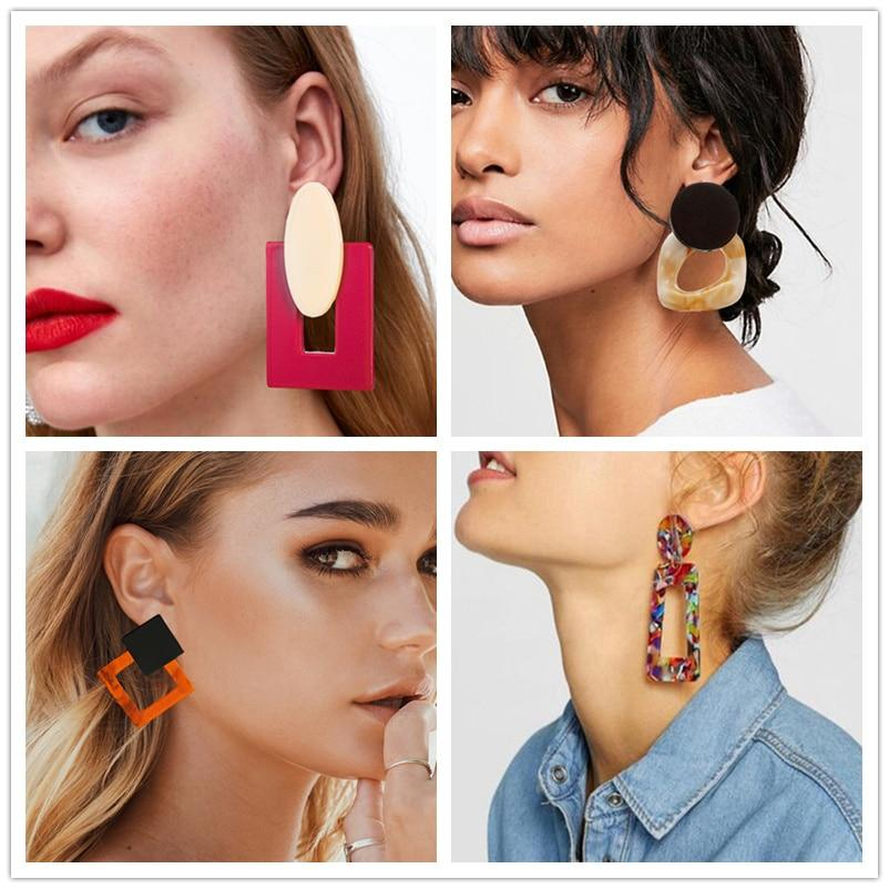 Big Acrylic Earrings accessory SupprStore