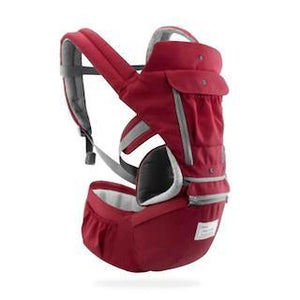 No.1 Premium Convertible Baby Carrier Backpack accessory SupprStore Red