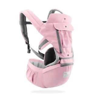 No.1 Premium Convertible Baby Carrier Backpack accessory SupprStore Pink