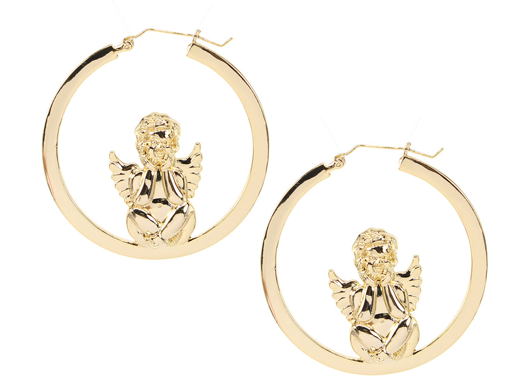 Angel Baby Hoops