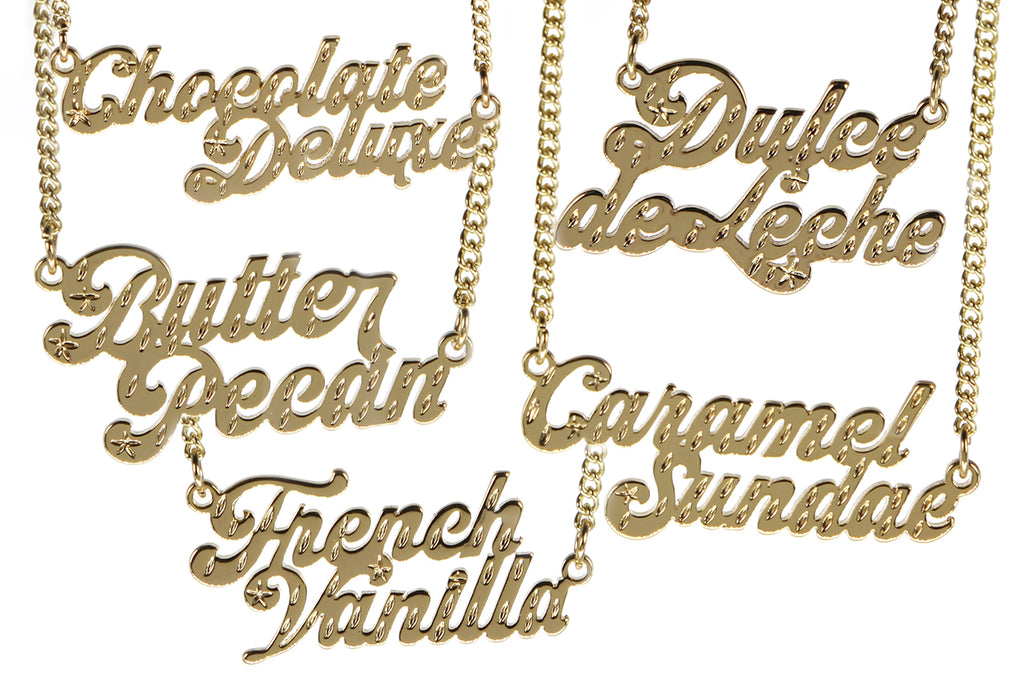 Ice Cream Necklaces