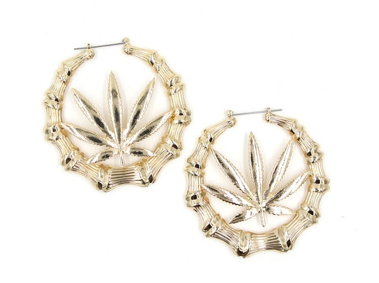 Mary Jane Hoops (Gold)