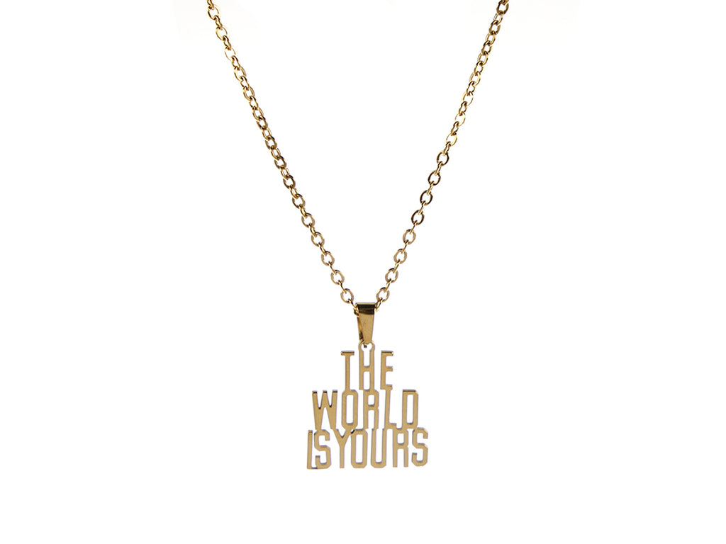 The World Is Yours Necklace