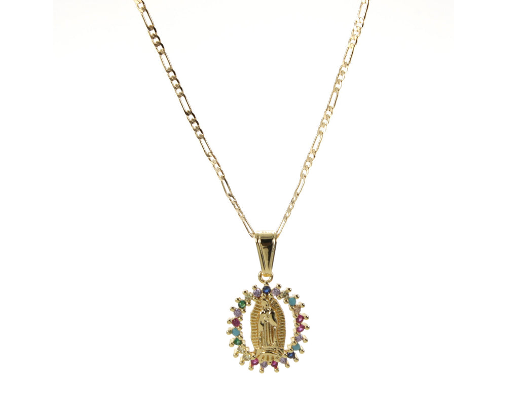 De Colores Virgencita Necklace