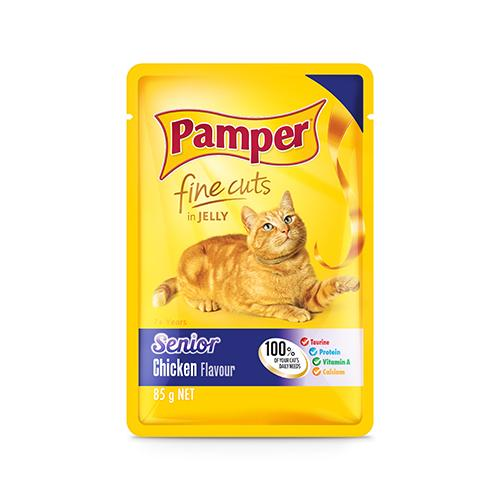 Pamper Senior Wet Food Pouches | 8 x 85 Grams