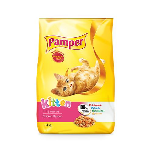 Pamper Kitten Food 1.4KG
