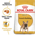 ROYAL CANIN French Bulldog Adult Dog Food Dropawf