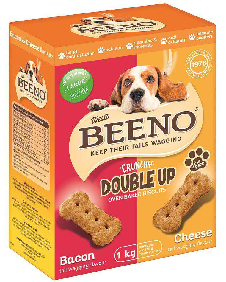 Beeno Biscuits Crunchy Double Up - 1KG