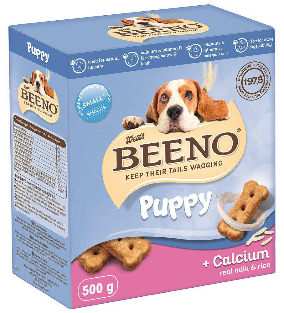 Beeno Puppy Dog Treats with Calcium - 500 Grams Dropawf
