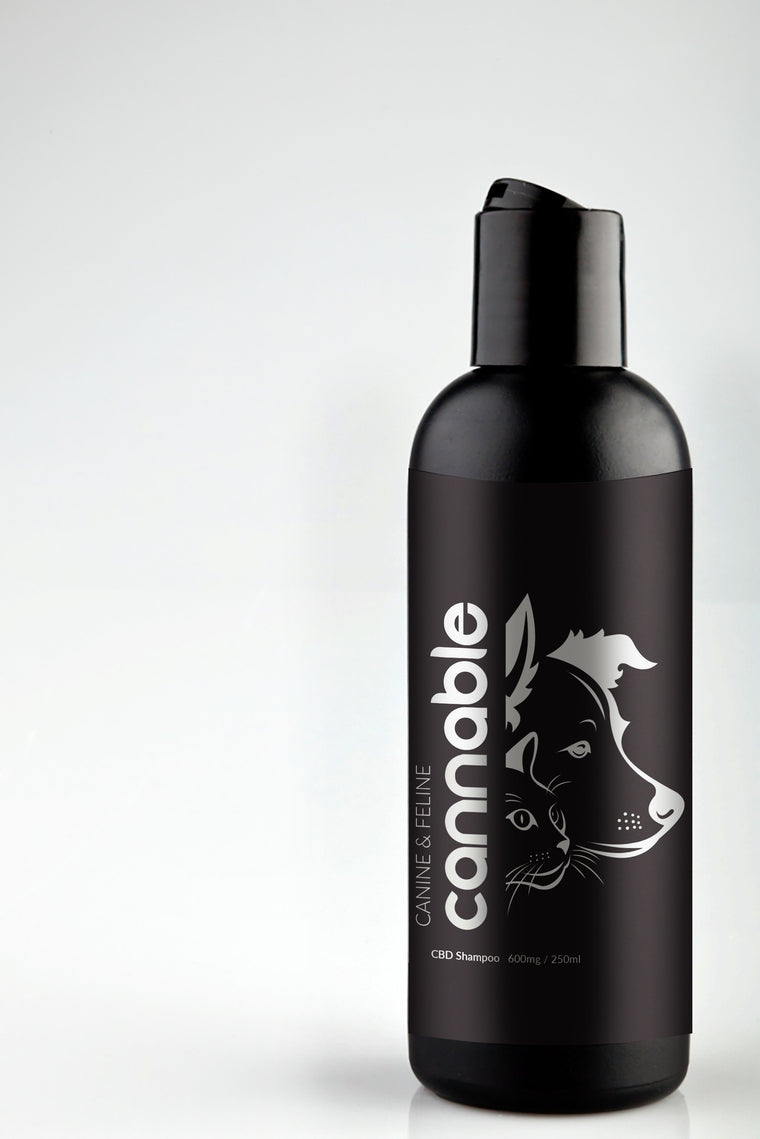 Cannable CBD Dog and Cat Shampoo 600mg / 250ml