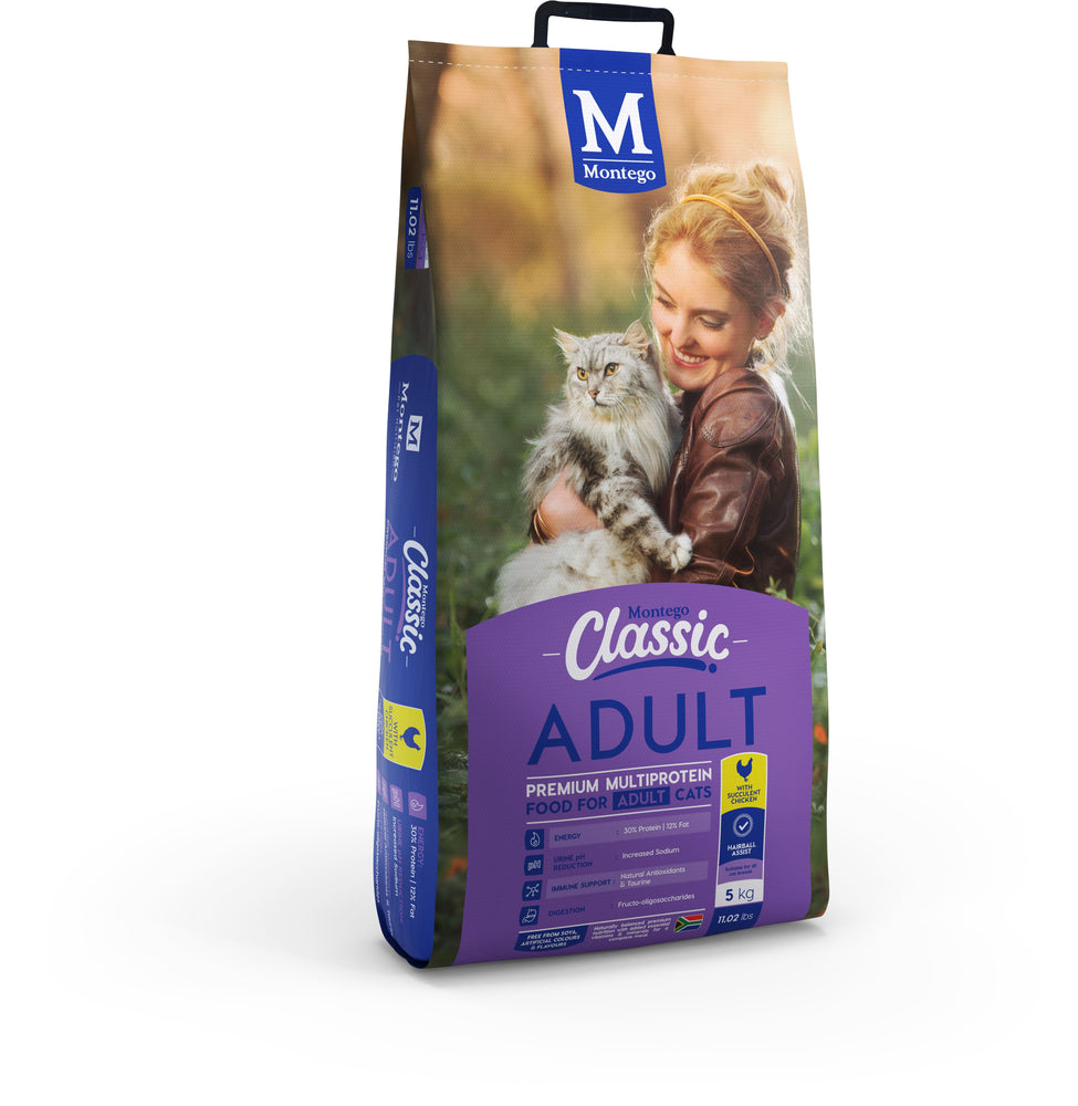 Montego Classic Adult Cat Food with Chicken Dropawf