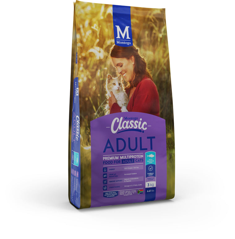 Montego Classic Adult Cat Food with Tuna