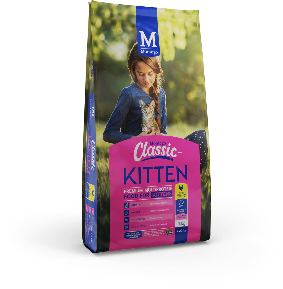 Montego Classic Kitten Food with Chicken