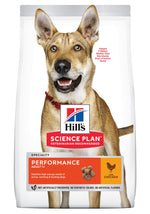 Hill's Science Plan Performance Adult Chicken Dog Food Dropawf