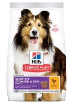 Hill's Science Plan Sensitive Stomach & Skin Medium & Large Adult Dog Food Dropawf