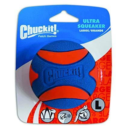 Chuckit! Ultra Squeaker Ball Dog Toy Dropawf